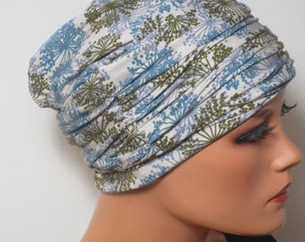 BEANIE of set of 2 m. Roman headband dandelions comfort ideal for chemotherapy alopecia or for boating Cabriofahen