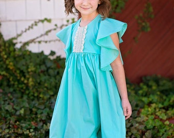 Girls spring dress - toddler girls spring outfit - girls spring outfit - girls pastel dress - toddler dress - dress for girls - pastel dress