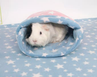 Guinea Pig Small Animal Fleece Accessory SNUGGLE SACK Bed Cosy Sock Pocket bag