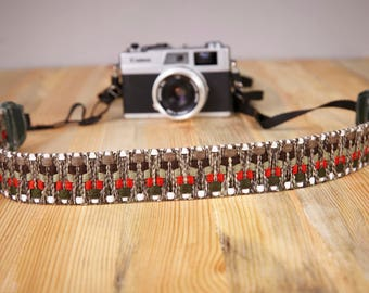 Camera Strap. Hand Made Camera Strap. Exotic Camera Strap. SLR, DSLR Camera Strap. Gift For Photographer.