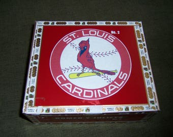 Cardinals Cigar Box Baseball Stadium