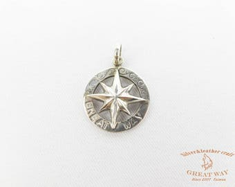 Navajo Jewelry silver--925 sterling silver Cross star pendant / southern cross star /necklace/handmade/ Native American style /Indian style