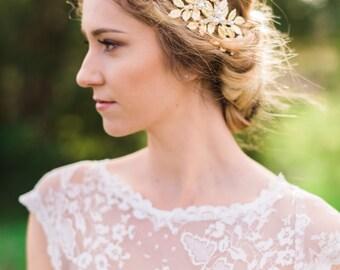 Gold Leaf Crown Gold Bridal Headband Bridal Leaf Crown Wedding Headband Leaf Headband Silver Headband Silver Leaf Crown Bridal Tiara #20