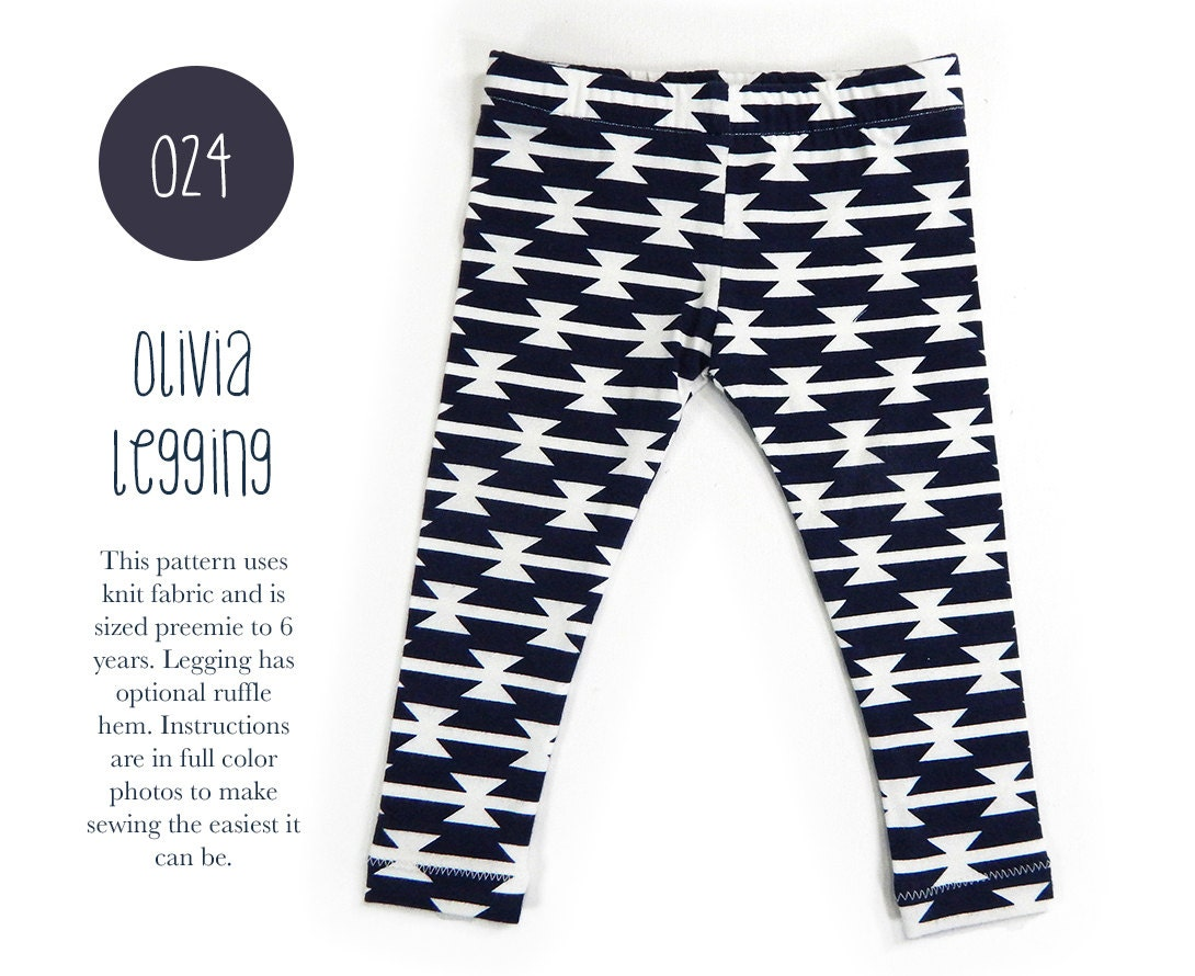024 olivia leggings pdf sewing pattern boy or girl kid baby zoom jeuxipadfo Image collections