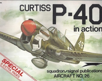 Curtiss P-40 in Action - Aircraft No. 26 (Paperback)
