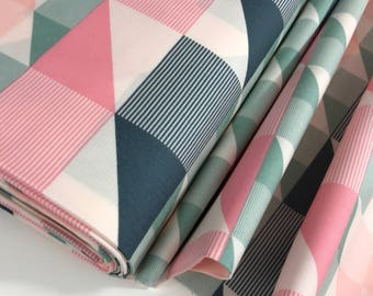 Trekants from the Bachelorette Fusions Collection by Pat Bravo for Art Gallery Fabrics, Choose the Cut