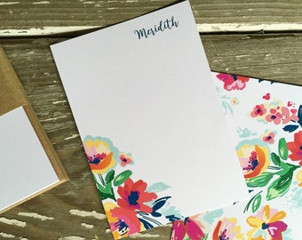 Personalized Notecards - Set of 8 - Anna