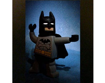 Framed Lego Batman Toy Photograph 4x6""