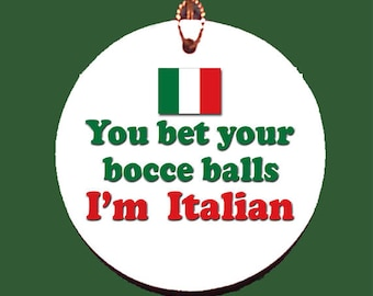 Italian Bocce Balls Ornament