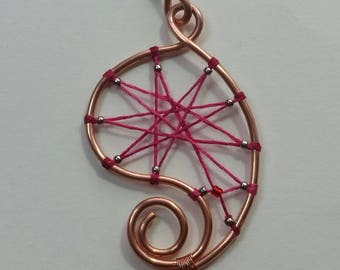 "Pendant ""Copper"" Collection - Wick Rose"