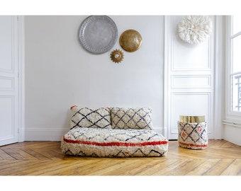 berber sofa, custom sofa, moroccan sofa, moroccan rug