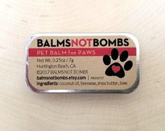 Dog Balm | Pet Balm | Paw Balm | All-Natural Handcrafted Unscented
