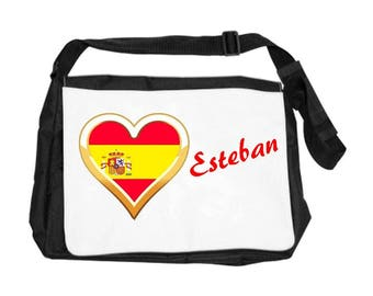 Spain bag personalized with name