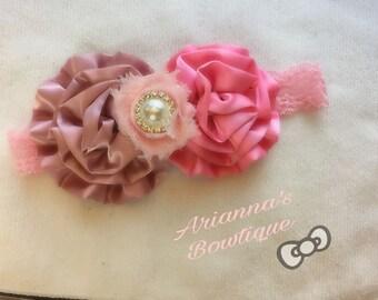 Mauve and Pink elegant cabbage flower