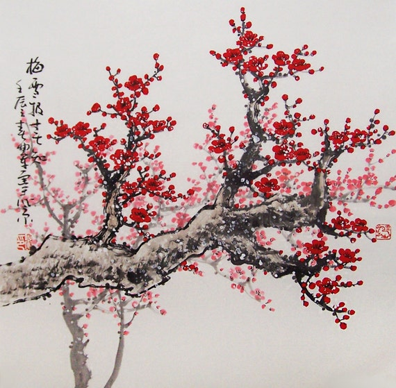 How To Paint A Cherry Tree In