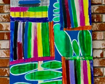 """Abstract Painting """"Playful"""""""
