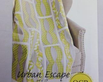 QCR Pattern- Urban Escape Quilt Pattern