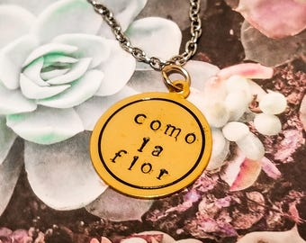 Latina, Latina jewelry, Personalized engraved necklace, Personalized latina necklace, Spanish jewelry for her