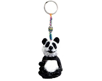 Panda Bear Animal Handmade Keychain