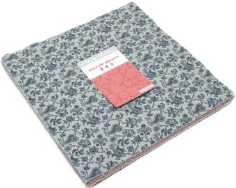 """Puzzle Pieces Layer Cake by Moda Fabrics 60 10"""" Fabric Squares 10100LC"""