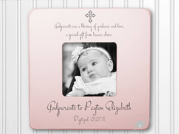 Godparents Picture Frame Godmother Picture Frame Godfather Picture ...