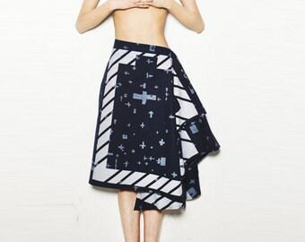 Paper Pattern | Skirt pattern KOKKA 3MIN.