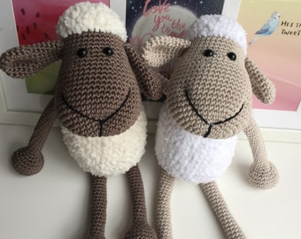 Crochet toy Sheep