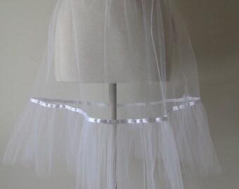 Petticoat - Tulle and Satin Ribbon