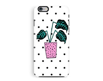 Plant Pattern iPhone 6s Case, iPhone 6 Case, iPhone Cases, iPhone 6S Case, Cheese Plant, Phone Cases, 80s iPhone 6 Case, iPhone 6 tough Case