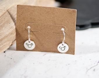 Mickey Mouse earrings, disney earrings, disc earring, dainty earrings, earrings, disney, disney jewelry