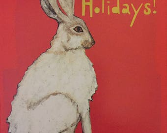 Holiday Rabbit Boxed Cards