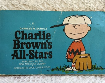 Vintage Charlie Brown's All Stars First Edition Second Printing 1966 Charles M. Shultz