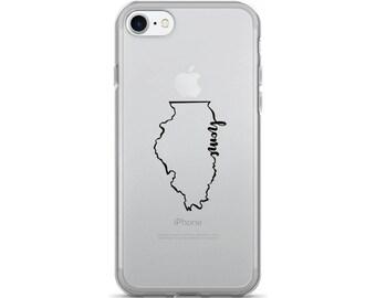 Illinois Home State - iPhone Case (iPhone 7/7 Plus, iPhone 8/8 Plus, iPhone X)