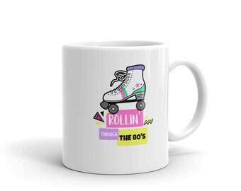 Rollin' Through The 80's Coffee Mug