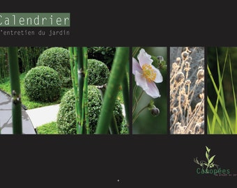 Perpetual calendar of garden maintenance