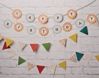 Happy Birthday Banner Photo Backdrop