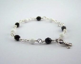 Lou Gehrig Disease Awareness Bracelet