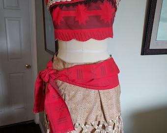 Moana Princess Adult Costume