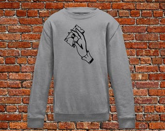 Letter sweater, letter tattoo, mail sweater, tattoo sweater, classic tattoo art, old school sweater, hipster gift, gift for tattoo lovers