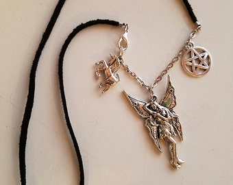 SALE! Little Witch Faery Magick Charm Necklace