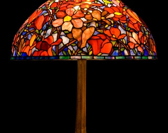 Stained Glass Table Lamp, Table Lamp Light, Lantern Lamp, Desk Lamp, Bedside Lamp, Nightstand Lamp, Reading Lamp Light, Tiffany Lamp