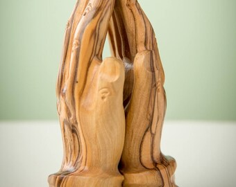 ST10S/Olive Wood Praying Hands/hand crafted/hand made/bethlehem/Holy Land