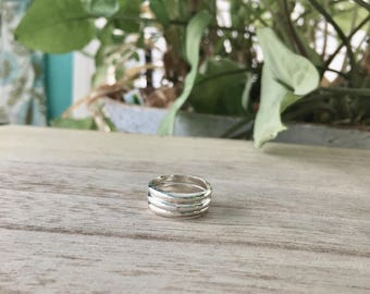 Stacking Rings (half round)