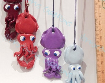 Cuttlefish Pendants
