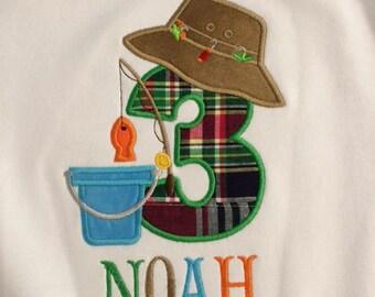 Birthday Fishing Shirt