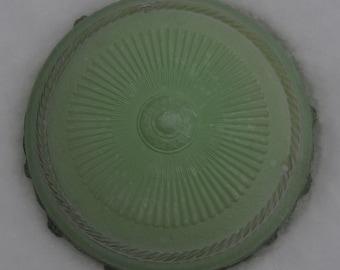 Vintage sage green ceiling lampshade