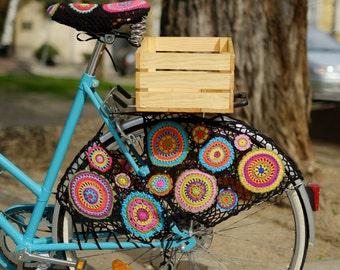 "Bicycle Skirt Guard ""Mandala"""