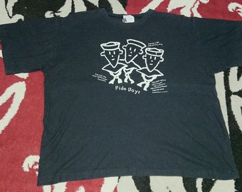 Vintage 1985 fido Dido t shirt fits to size L/XL