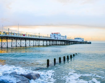 Worthing Pier at sunrise Photo / Poster / Canvas Colour