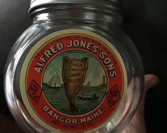 Alfred Jones & Sons Celebrated Finnan Haddie Jar